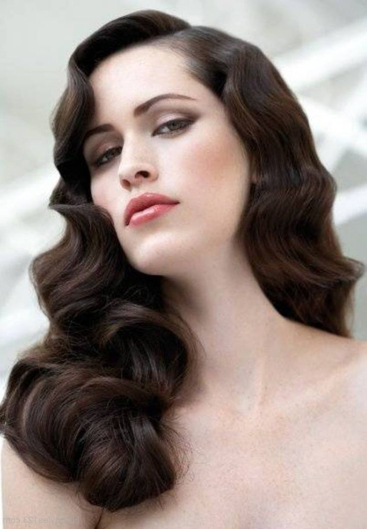 Vintage Curly Hairstyles That Are Really Timeless | Gatsby Wedding Throughout 20S Long Hairstyles (View 22 of 25)