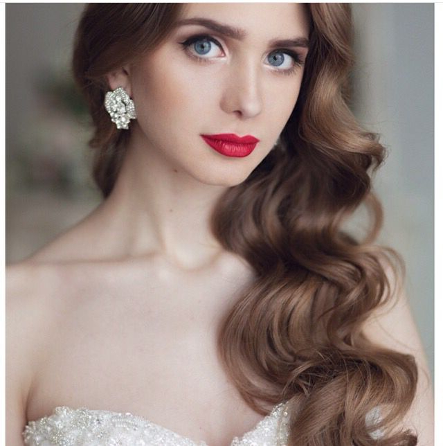 Vintage Hairstyles, Long Waves, Curls, Wedding Hairstyles | Hair Throughout Vintage Hairstyles Long Hair (View 5 of 25)