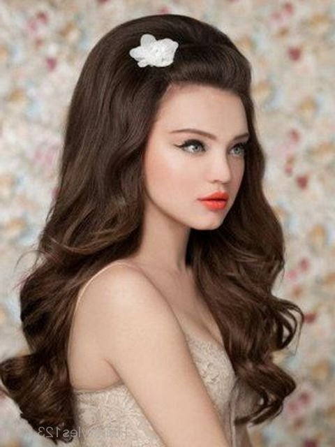 Vintage Long Hairstyle Inside Long Vintage Hairstyles (View 7 of 25)