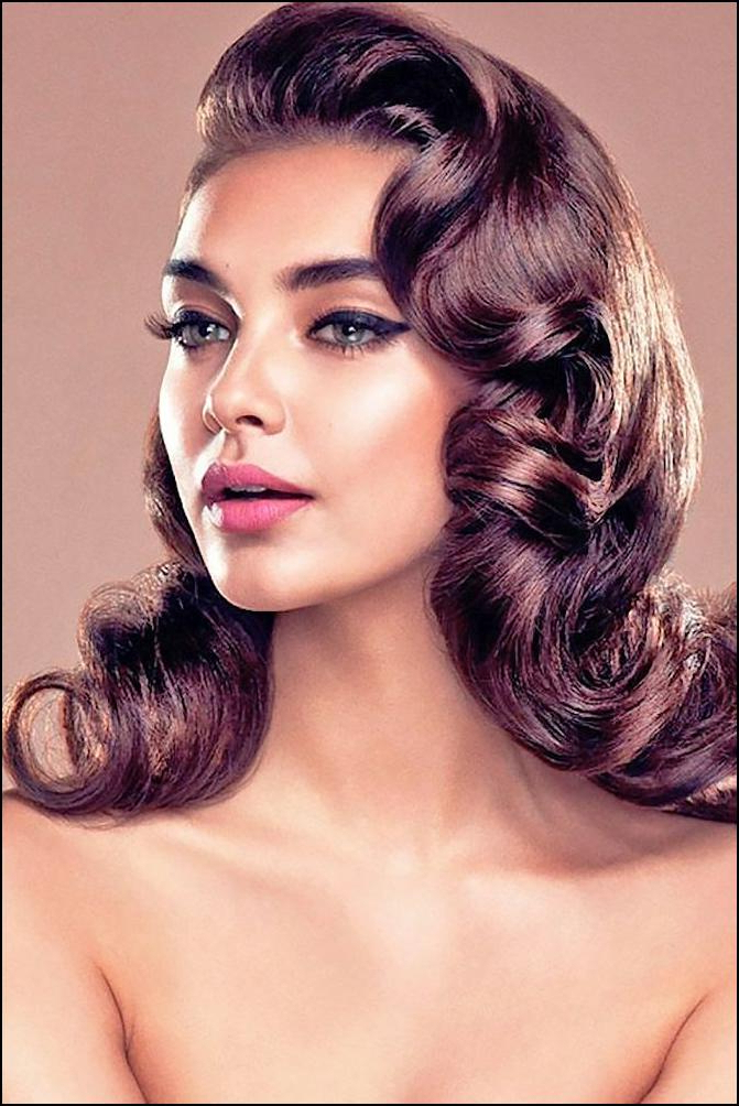 Vintage Long Hairstyles And Long Vintage Hairstyles – Vintage With Vintage Hairstyles For Long Hair (View 9 of 25)