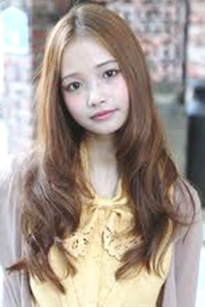 Wallpaper Korean Long Hairstyles For Girls | Wallpaper Korean Long Inside Korean Long Hairstyles (View 20 of 25)