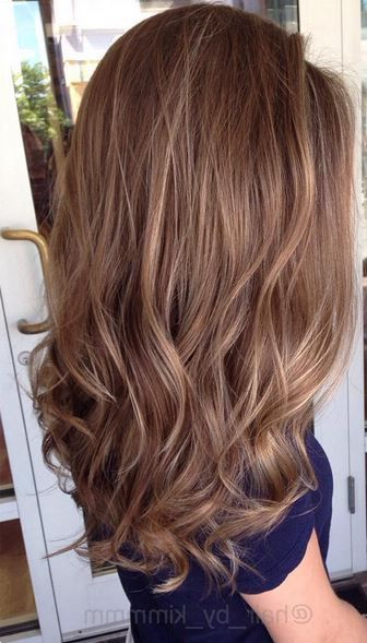 Warm Brunette Balayage … | Hair Styles | Hair … Regarding Warm Toned Brown Hairstyles With Caramel Balayage (View 4 of 25)