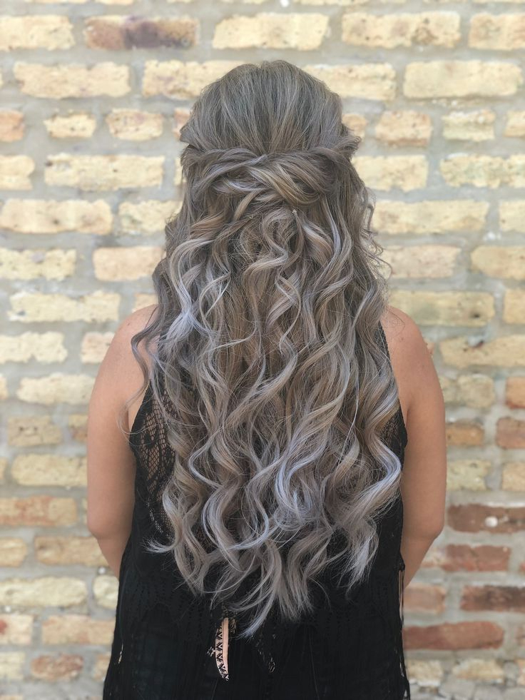 Waves Look Great On Every Hair Length, But This Hair Model's With Regard To Cascading Waves Prom Hairstyles For Long Hair (View 4 of 25)