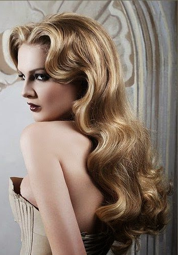 Wavy Retro Hairstyles 2019 | Haircuts, Hairstyles 2019 And Hair Within Vintage Haircuts For Long Hair (View 15 of 25)