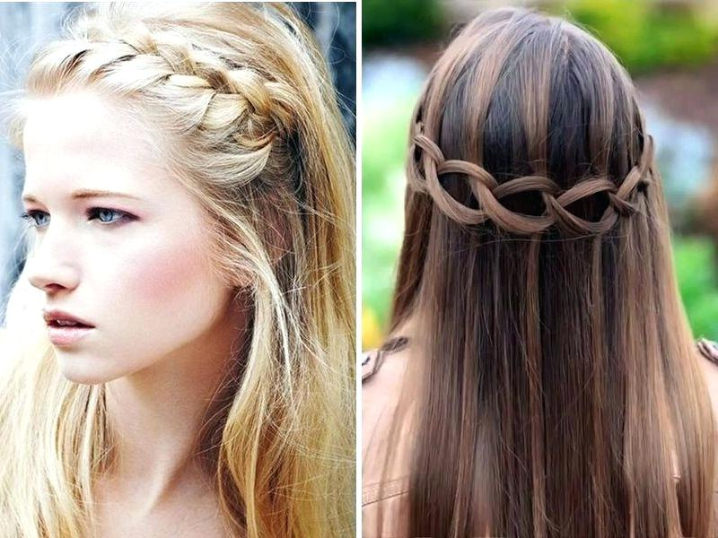 Wedding Hair Ideas For Long Hair Down Description Long Wavy Down With Long Hairstyles Down Straight (View 9 of 25)