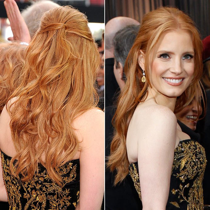 Wedding Hairstyle Inspiration From The 2012 Red Carpet | Wedding For Long Hairstyles Red Carpet (View 20 of 25)