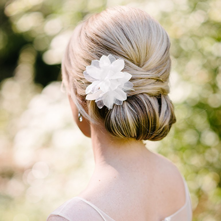 Wedding Hairstyles: 8 Luxe Looks Suited To Every Bridal Style | Brides Regarding Low Petal Like Bun Prom Hairstyles (View 17 of 25)