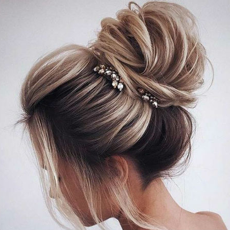 Wedding Hairstyles For Different Hair Lengths | Finder (View 19 of 25)