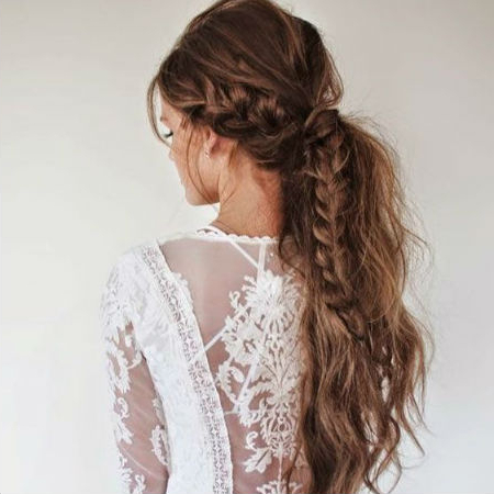 Wedding Hairstyles For Different Hair Lengths   Finder (View 25 of 25)