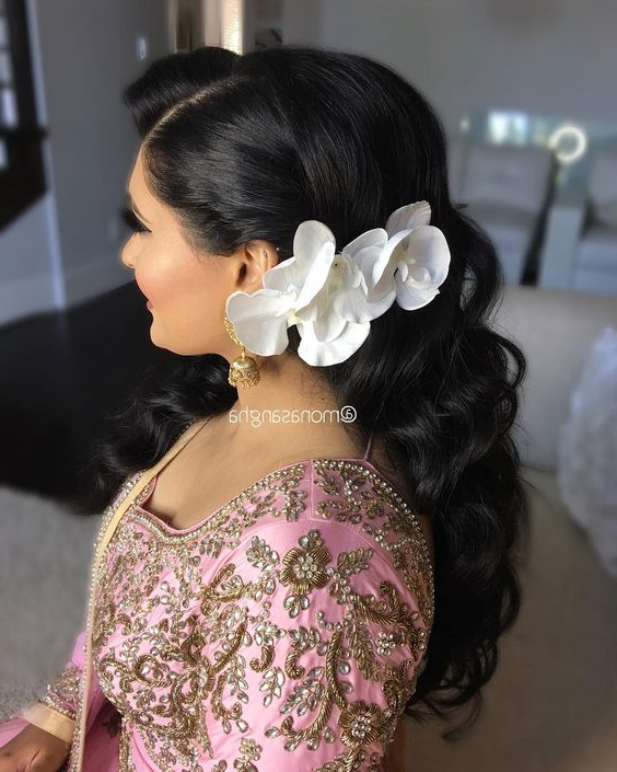 Wedding Hairstyles For Everyone   A Practical Wedding With Regard To Side Bun Prom Hairstyles With Orchids (View 24 of 25)