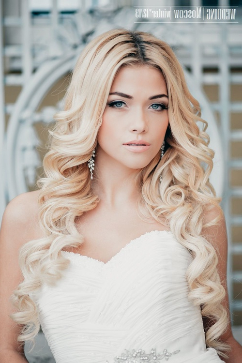 Wedding Hairstyles For Long Hair | Elstyle Wedding Hairstyle Long Hair Pertaining To Long Hairstyles Down For Wedding (View 10 of 25)