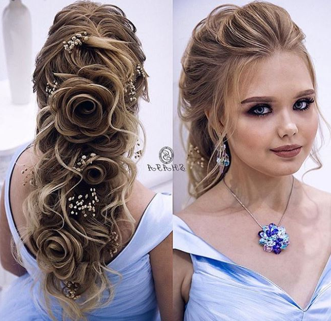 Wedding Hairstyles For Long Hair – Evesteps For Wedding Long Hairstyles (View 24 of 25)