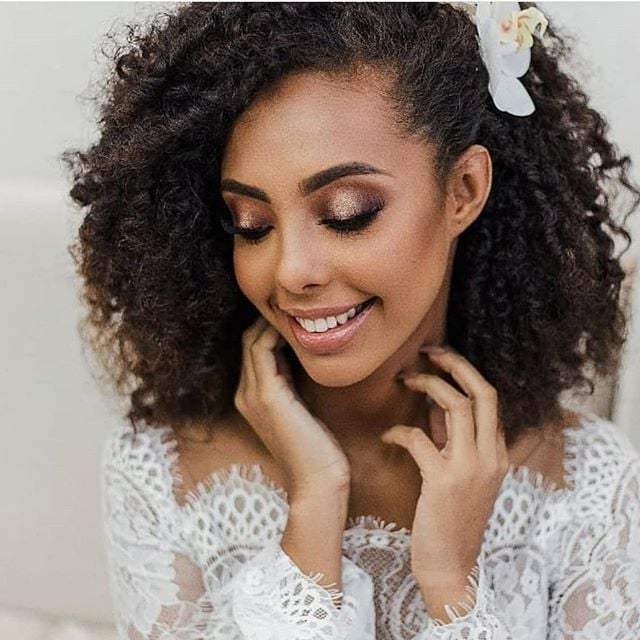 Wedding Hairstyles For Natural Hair | Popsugar Beauty In Long Hairstyles Natural (View 22 of 25)