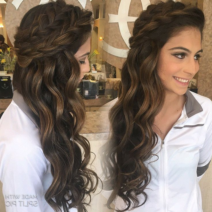 Wedding Hairstyles Half Up Half Down Best Photos – Page 4 Of 5 | My In Long Hairstyles Down For Wedding (View 13 of 25)