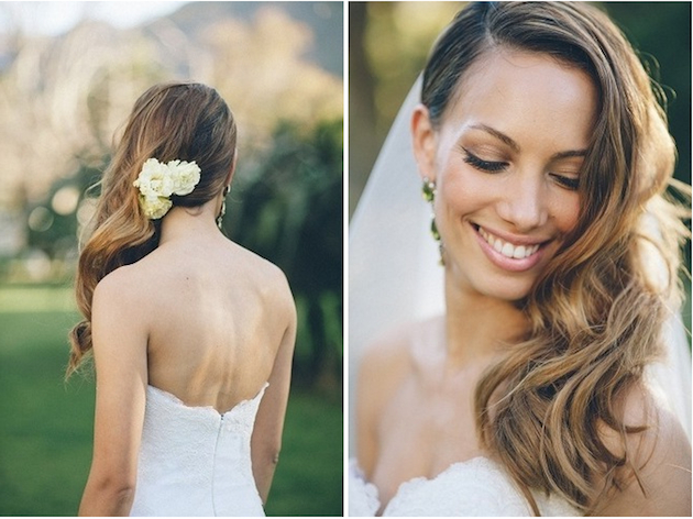 Wedding Hairstyles: Side Swept Waves Inspiration And Tutorials Inside Pinned Up Curls Side Swept Hairstyles (View 12 of 25)