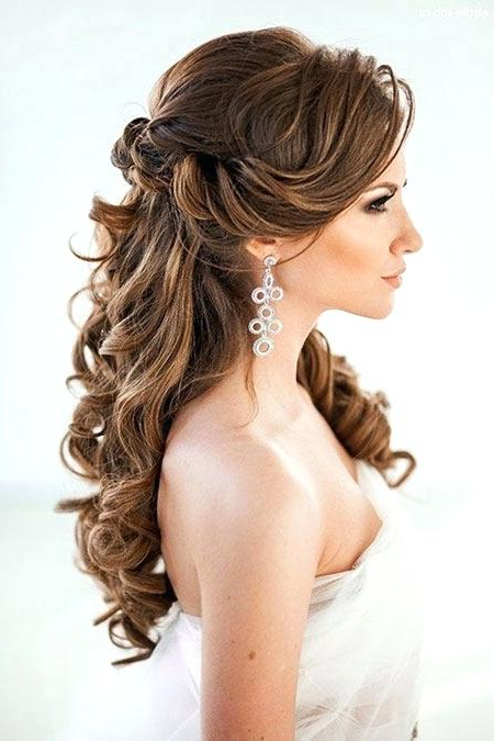 Wedding Hairstyles With Veil For Long Hair – Hairstyles For Long Hair Intended For Long Hairstyles Veils Wedding (View 25 of 25)