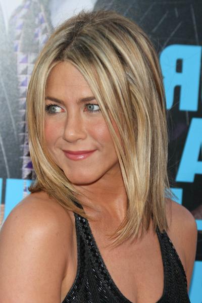 Wedding Updo Hairstyle: Jennifer Aniston Straight Layered Bob Hairstyle Within Long Layered Hairstyles Jennifer Aniston (View 15 of 25)