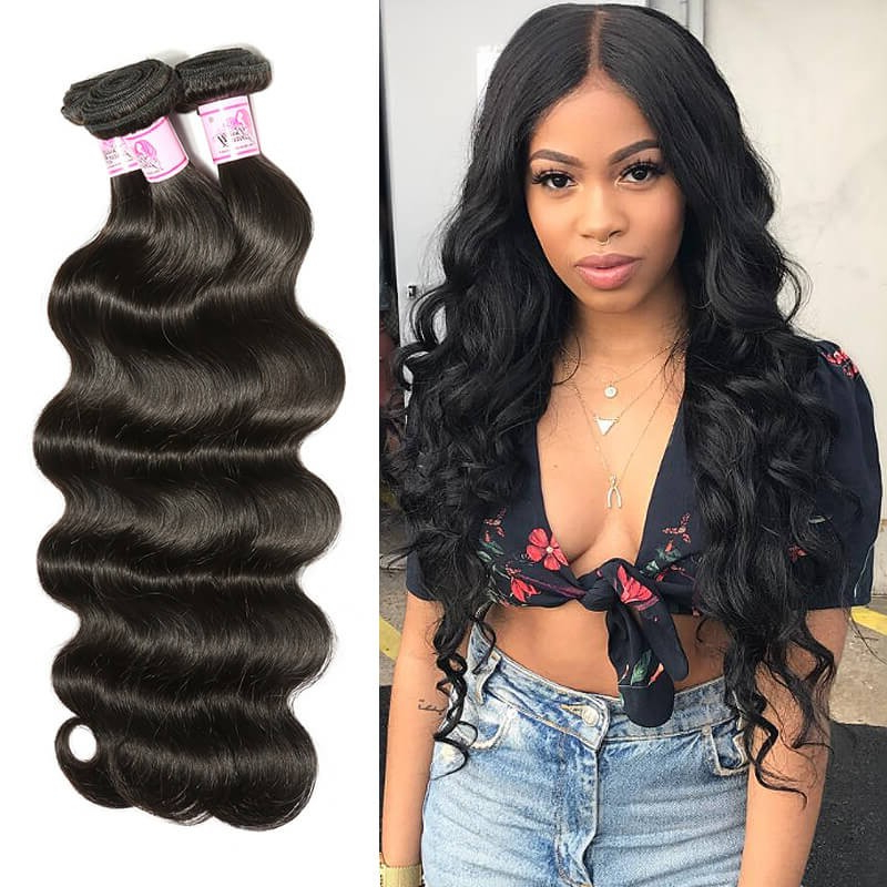 Wet And Wavy Weave Bundles,wet And Wavy Human Hair Beauty Forever With Wavy Long Weave Hairstyles (View 13 of 25)