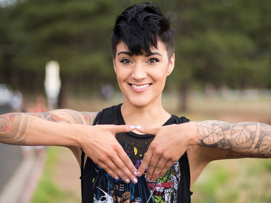 What Is The Perfect Lesbian Haircut For You? Regarding Long Queer Hairstyles (View 25 of 25)