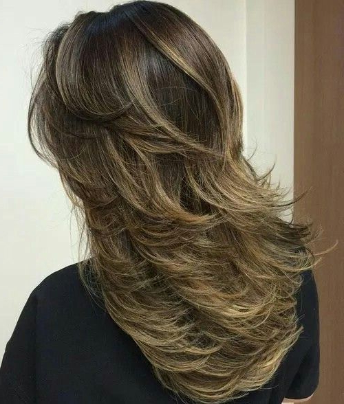 Featured Photo of Windswept Layers For Long Hairstyles