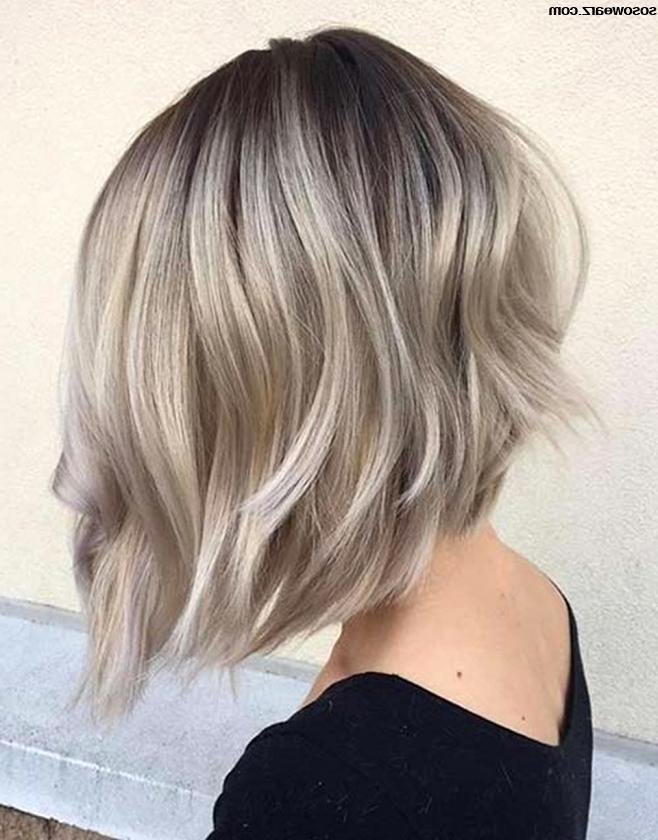 Womens Hair Short Back Long Front Haircuts Gallery Shorter In Back For Long Front Short Back Hairstyles (View 7 of 25)