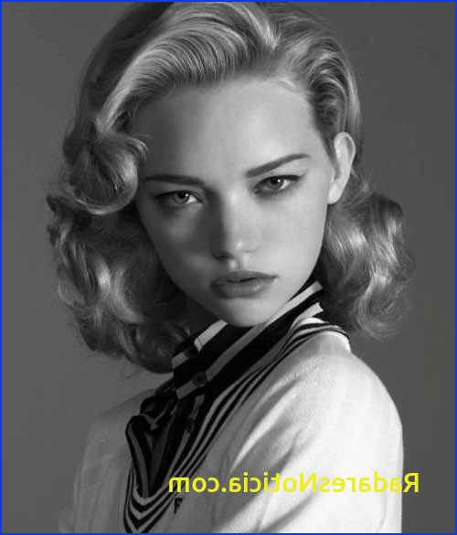 Women's Hairstyles In The 50S 2018 Latest 1950S Long Hairstyles Intended For 1950S Long Hairstyles (View 15 of 25)