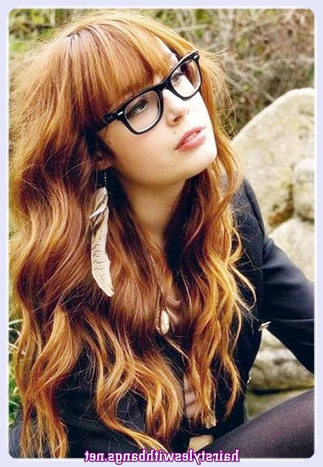 You Will Love The Long Hairstyles With Bangs For Women For Trendy Long Hairstyles With Bangs (View 10 of 25)