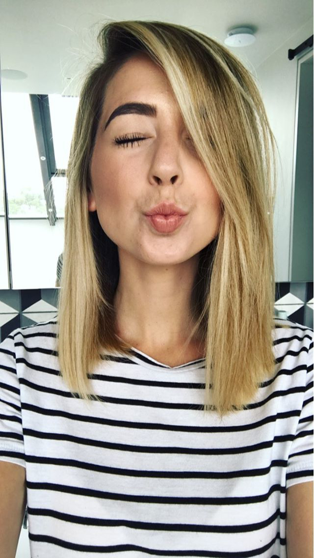 Youtuber With The Best Personality Zoella (Zoe Sugg) | Hair For Zoella Long Hairstyles (View 10 of 25)