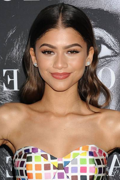 Zendaya Hair And Makeup: The Disney Star Comes Of Age With Movies, A In Zendaya Long Hairstyles (View 19 of 25)