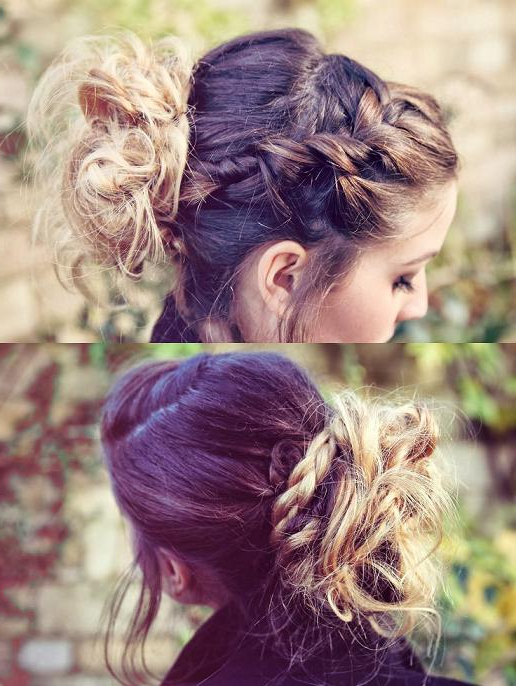 Zoella Braid Updo | Hairstyles How To With Regard To Zoella Long Hairstyles (View 25 of 25)