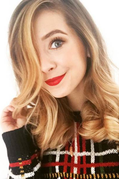 Zoella Hair & Beauty: Hairstyles Short & Long & Curly 2016 | Glamour Uk Throughout Zoella Long Hairstyles (View 13 of 25)