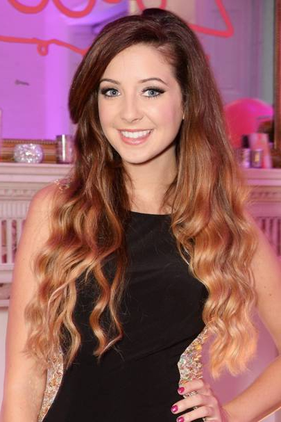 Zoella Hair & Beauty: Hairstyles Short & Long & Curly 2016 | Glamour Uk With Regard To Zoella Long Hairstyles (View 24 of 25)