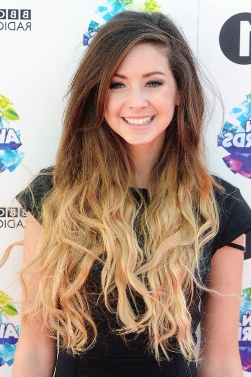 Zoella // Ombre Side Part | {Locks & Lashes} | Zoella Hair, Long Inside Zoella Long Hairstyles (View 2 of 25)