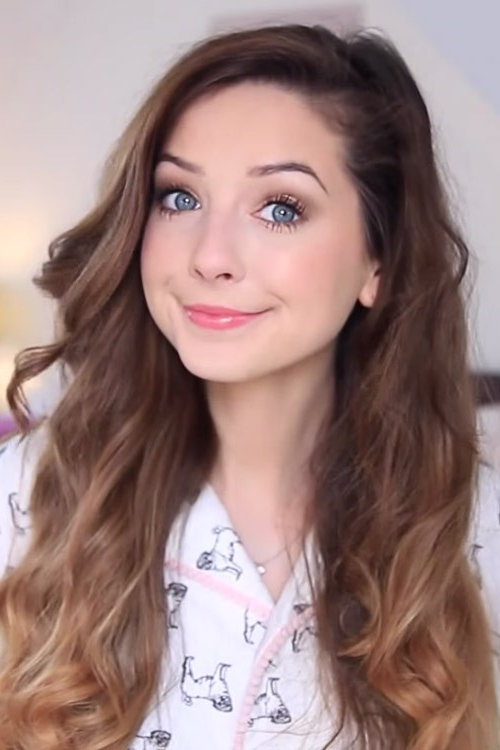 Zoella's Hairstyles & Hair Colors | Steal Her Style Pertaining To Zoella Long Hairstyles (View 17 of 25)