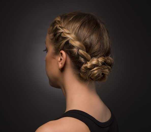 1 Braid, 3 Ways: Rachel Zoe's Dreamdry Re Imagines The Pertaining To Latest Medieval Crown Braided Hairstyles (View 16 of 25)