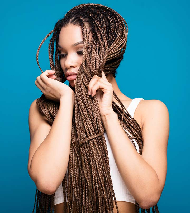 10 Amazing Black Braided Hairstyles With Regard To 2018 Angled Cornrows Hairstyles With Braided Parts (View 22 of 25)