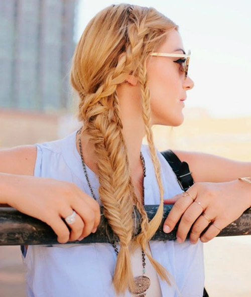 10 Best Braided Hairstyles From Fun To Formal – Popular Haircuts Throughout Most Up To Date Blonde Asymmetrical Pigtails Braid Hairstyles (View 17 of 25)