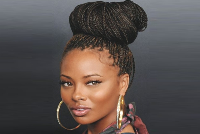 10 Box Braids Hairstyles For Black Women | Womensok Pertaining To Newest Tiny Braid Hairstyles In Crop (View 23 of 25)
