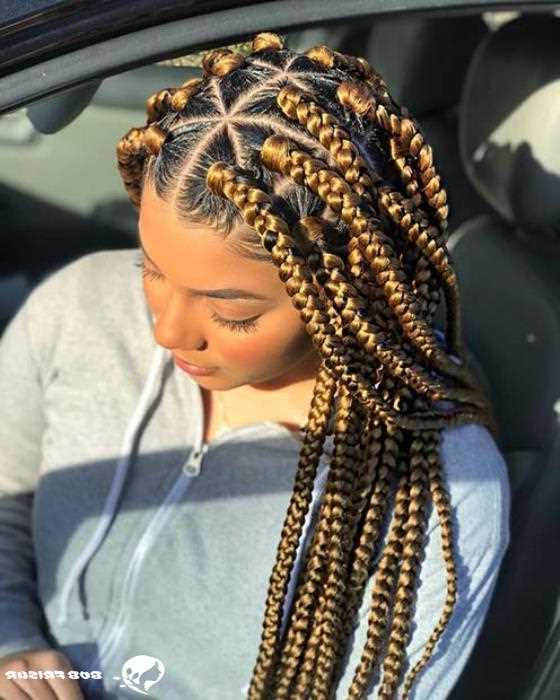 10 Cool Blonde Box Braids Hairstyles To Try – Mody Hair In Latest Blonde Braid Hairstyles (View 17 of 25)