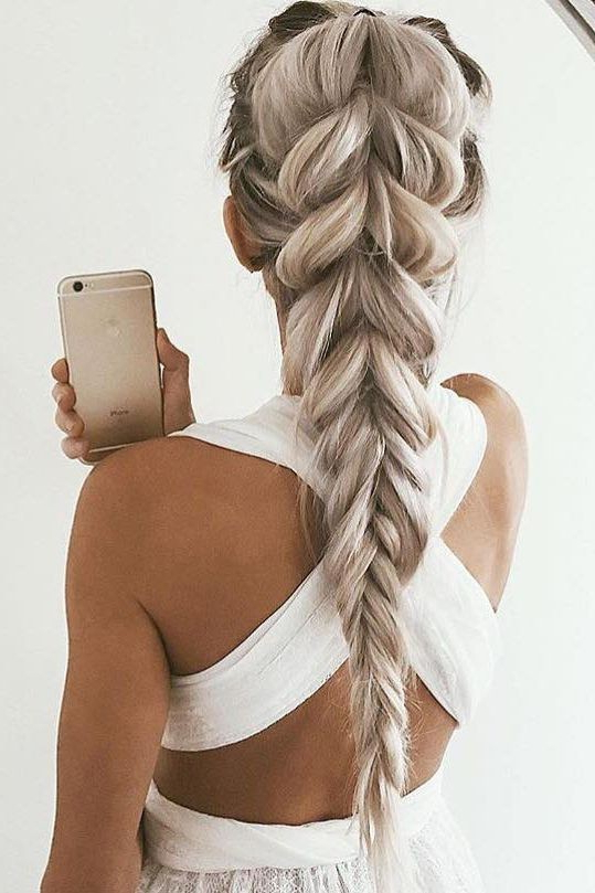 10 Cute Braided Hairstyle Ideas: Stylish Long Hairstyles 2019 For Current Thick And Luscious Braid Hairstyles (View 14 of 25)