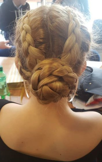 10 Cute Hairstyles For Swimming – Aquamobile Swim School For Most Recently Braided Ballerina Bun Hairstyles (View 25 of 25)
