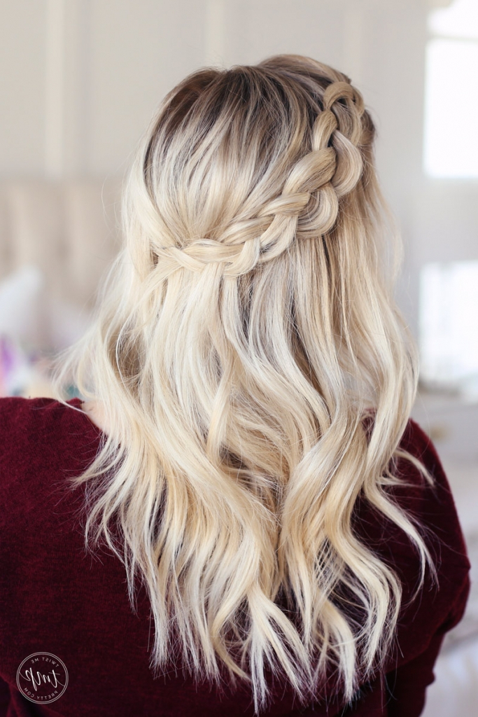 10 Medium Length Hairstyles! – Twist Me Pretty With Regard To Most Recently Secured Wrapping Braided Hairstyles (View 24 of 25)