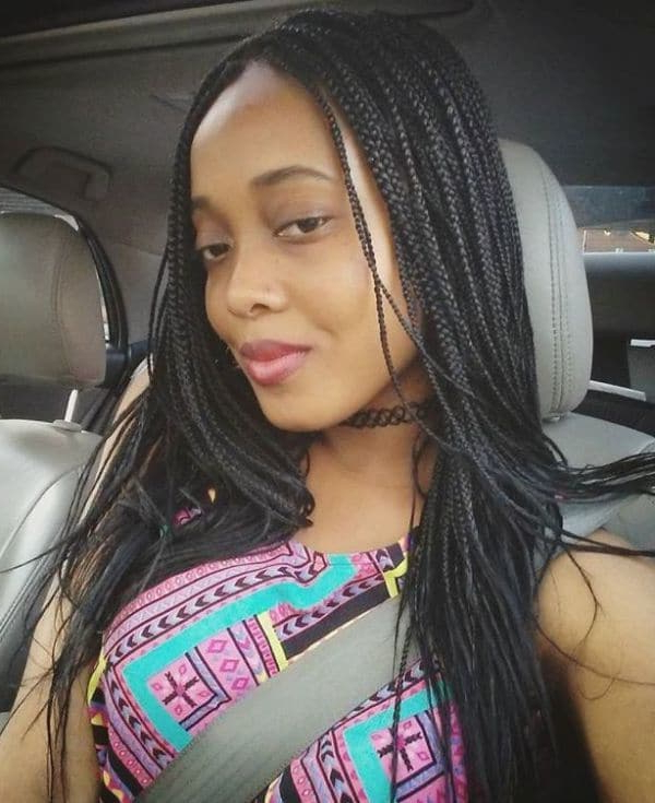 10 Micro Crochet Braids For Fashionable African American Inside Most Current Curly And Messy Micro Braid Hairstyles (View 12 of 25)