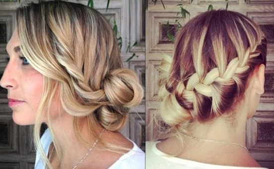 10 Side Bun Tutorials: Low, Messy And Braids Updos – Pretty Inside Recent Messy Rope Braid Updo Hairstyles (View 13 of 25)
