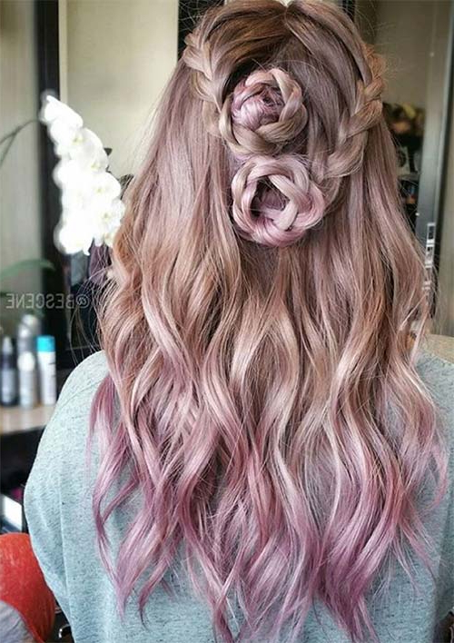 100 Ridiculously Awesome Braided Hairstyles To Inspire You Inside Most Current Pink Rope Braided Hairstyles (View 6 of 25)