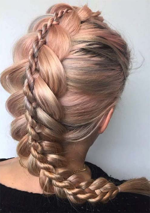 100 Ridiculously Awesome Braided Hairstyles To Inspire You Intended For Best And Newest Loose 4 Strand Rope Braid Hairstyles (View 7 of 25)