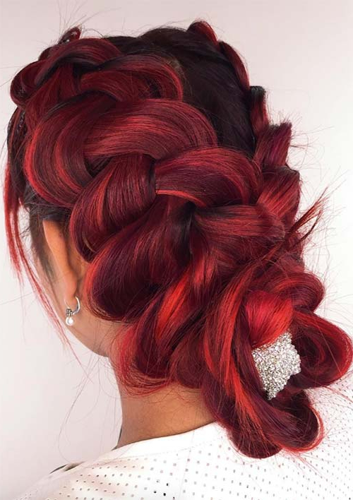 100 Ridiculously Awesome Braided Hairstyles To Inspire You Pertaining To Most Popular Softly Pulled Back Braid Hairstyles (View 8 of 25)
