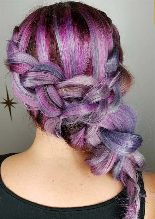 100 Ridiculously Awesome Braided Hairstyles To Inspire You With Newest Heart Shaped Fishtail Under Braid Hairstyles (View 21 of 25)