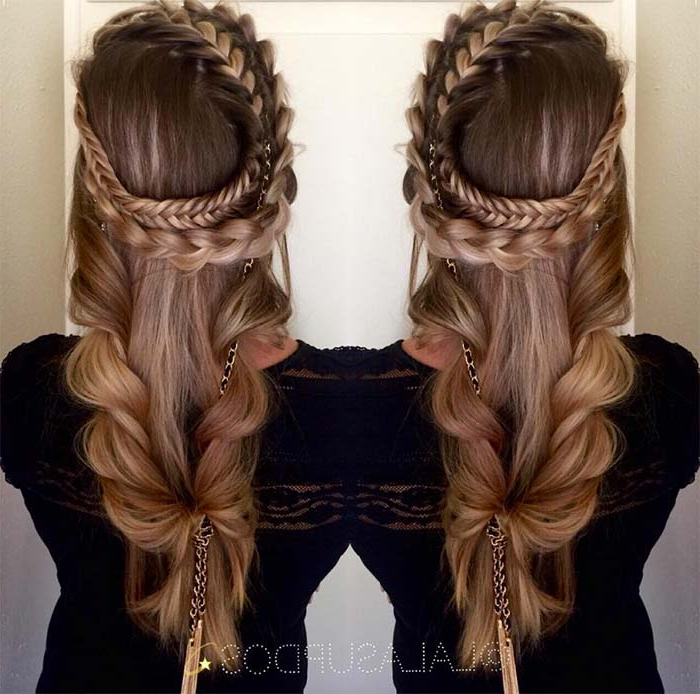 100 Ridiculously Awesome Braided Hairstyles To Inspire You With Regard To Best And Newest Mermaid Crown Braid Hairstyles (View 17 of 25)
