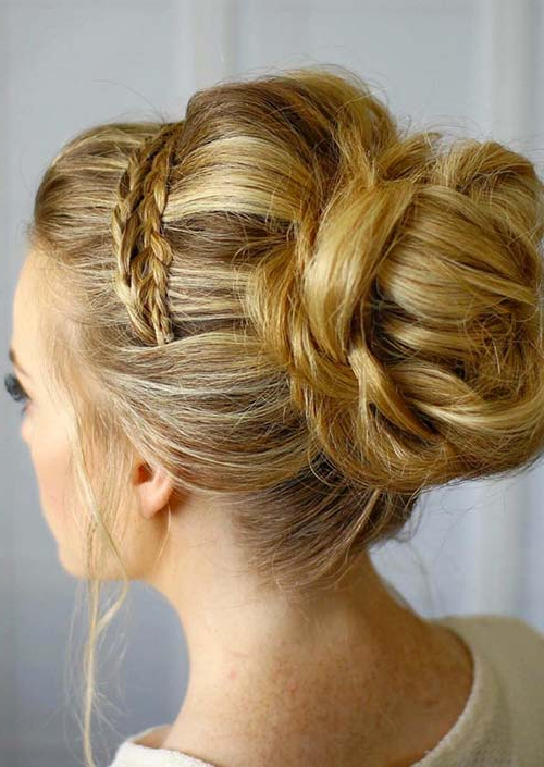 100 Trendy Long Hairstyles For Women To Try In 2017 Intended For Most Popular Tight Braided Hairstyles With Headband (View 16 of 25)
